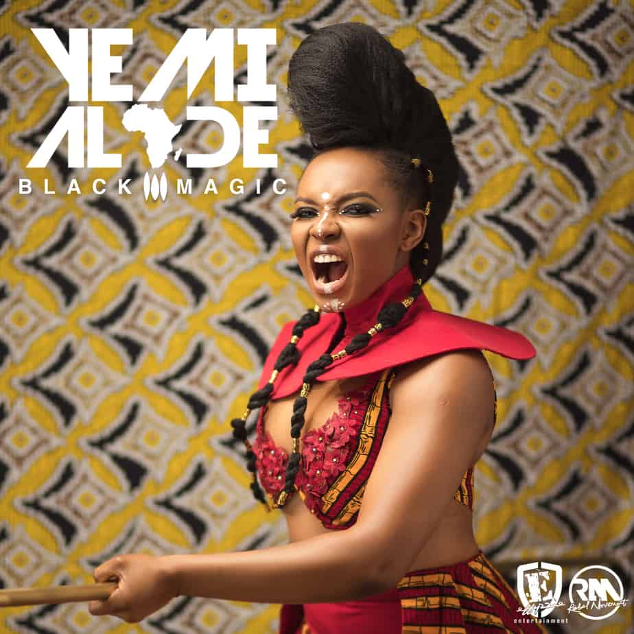 BREAKING: Yemi Alade releases New  tracklist - art for new album (Black Magic)