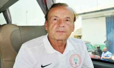 Rohr drops 4 players from World Cup list