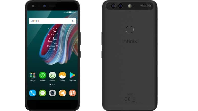 Infinix launches Zero 5 smartphone with dual rear camera system