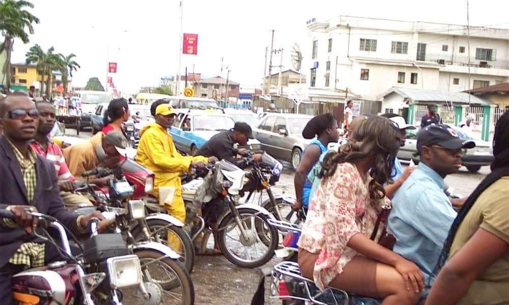 okada 1000x600 - Lagos State Police Arrest Okada Operators, Seize 115 Motorcycles
