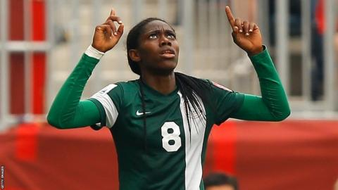 oshoala - Super Falcons Star, Oshoala Scores On Her Debut For Barcelona