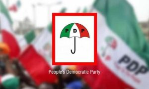 pdp Peoples Democratic Party 300x180 - Ondo 2020: PDP Raises Questions Over INEC Office Fire Incident