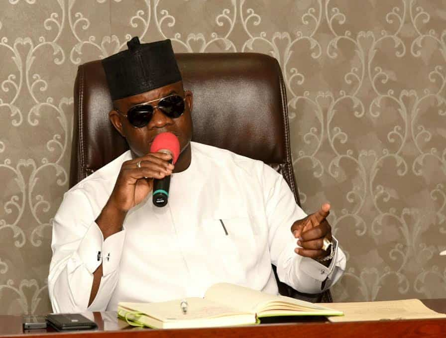 Yahaya Bello of Kogi