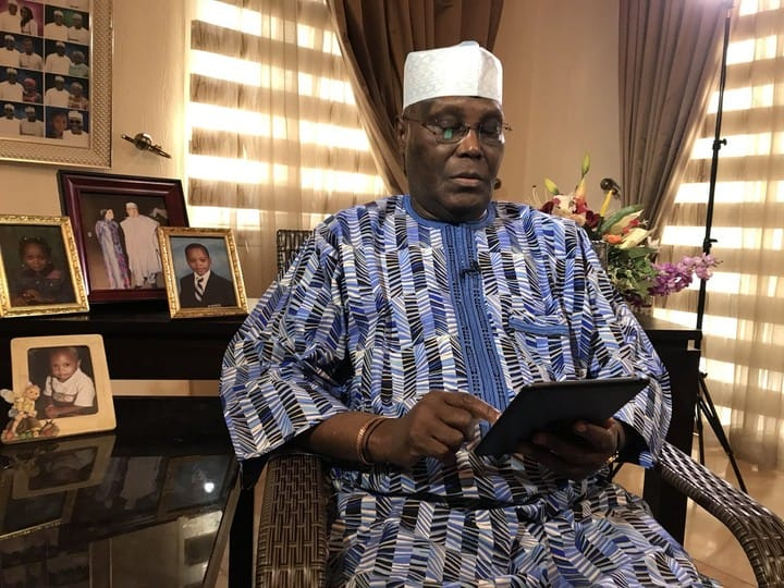 Atiku Abubakar group speaks on Buhari's second term bid