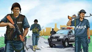 EndSARS 300x172 - Why FG Can't Prosecute 33 Indicted SARS Operatives – Malami