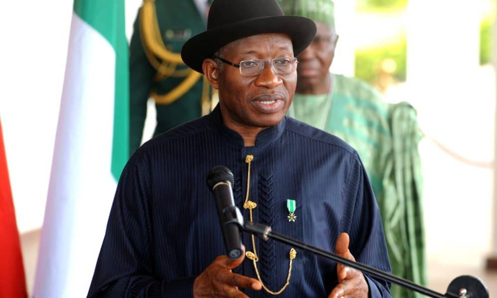 Jonathan press briefing 1000x600 - Real Reason I Conceded Defeat In 2015 – Jonathan
