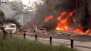 Lagos Fire 1 300x168 - Just In: 20 People Burnt To Death In Fatal Bauchi Road Accident