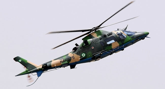 Nigerian Air Force Helicopter - Zamfara Council Of Chiefs Insist Air Force Killing Villagers