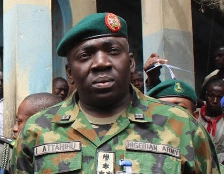 Boko Haram: Nigerian Army replaces commander of Operation Lafiya Dole
