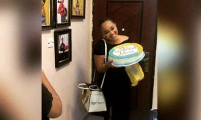 mercy aigbe pre 40 cake 2