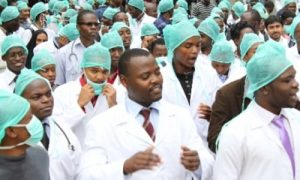 resident doctors 300x180 - 20 Kwara Doctors Test Positive For COVID-19 Within Three Weeks