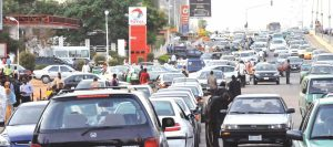scarcity fuel 300x133 - Fuel Scarcity Looms In Nigeria As Oil Workers Strike