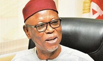 Former APC National Chairman, Oyegun