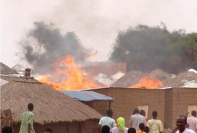 Fresh Fire Outbreak Reported At Borno IDP Camp