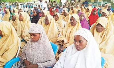 President Buhari Reportedly Gave Dapchi Girls ₦5000 Each