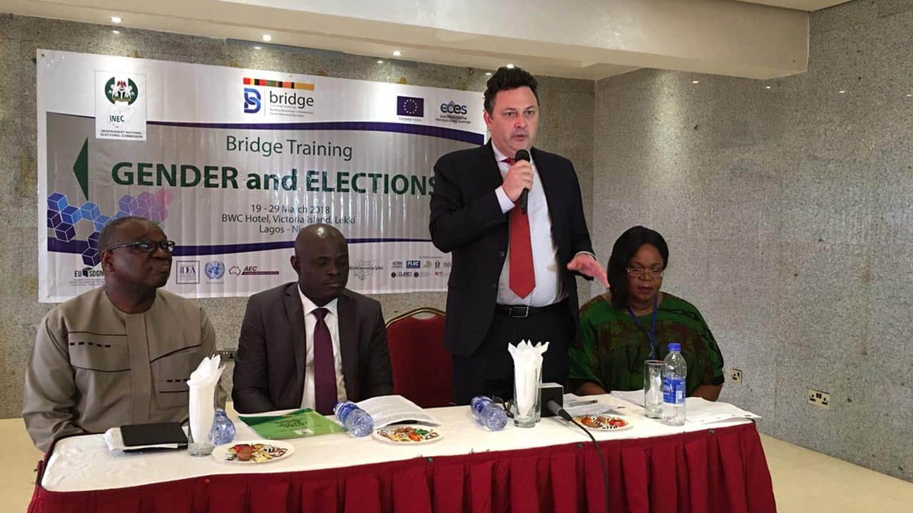 2019: EU assures INEC of support for PWD