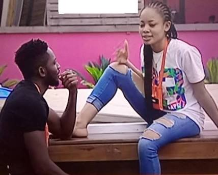 BBNaija 2018: Nina speaks on relationship with Miracle, says he's 'everything'