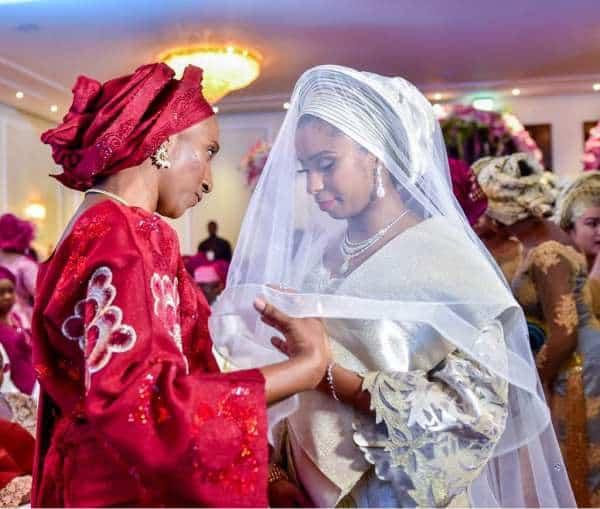 Wife of the Vice President Dolapo Osinbajo with daughter Oludamilola