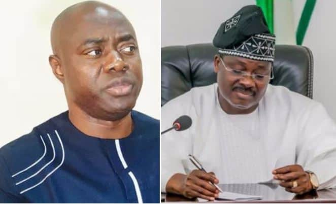 Image result for images of Makinde To Ajimobi