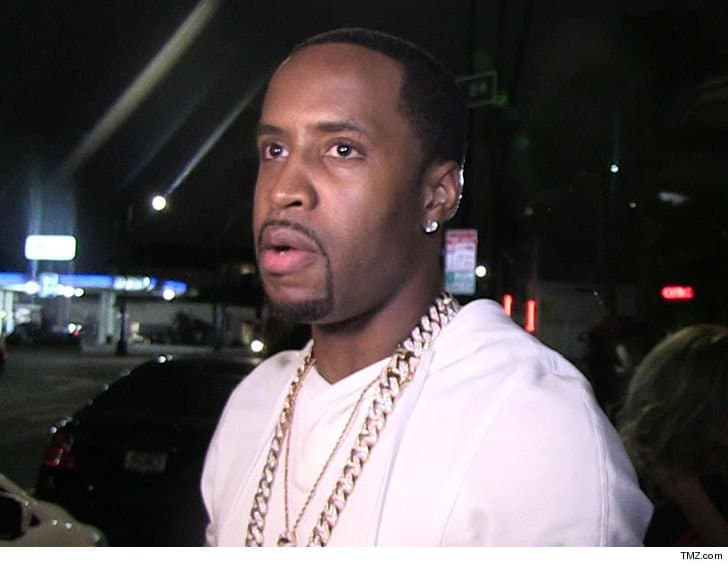 Safaree Samuels explains why he cried after he was robbed at gunpoint