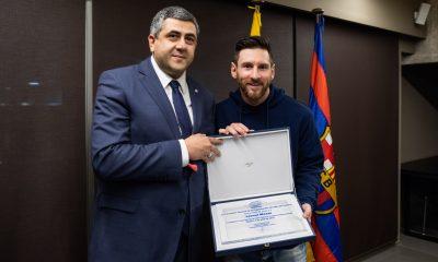 Leo Messi named as World Tourism Organisation Ambassador for Responsible Tourism