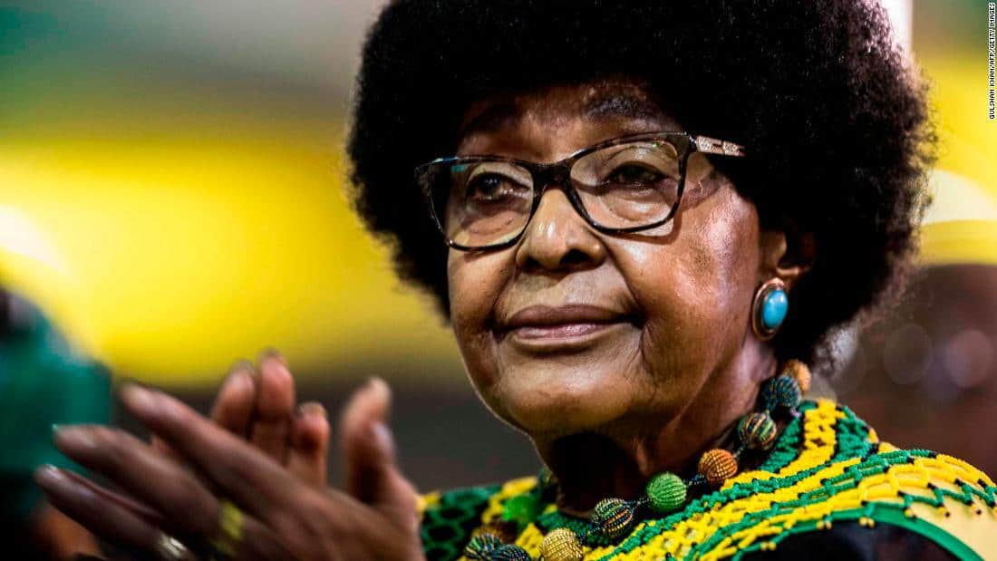 #WinnieMandela South Africa has lost a mother, says Ramaphosa