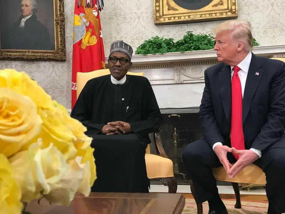 Gains of President Buhari's visit to the United States