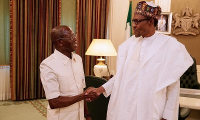Oshiomole declares total support for Buhari