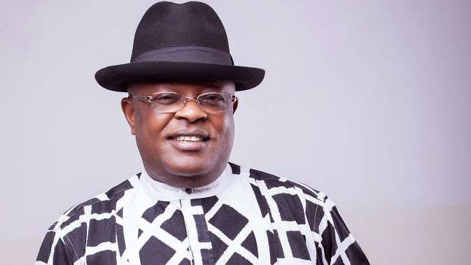 JUST IN: Ebonyi Governor Umahi Formally Joins APC From PDP