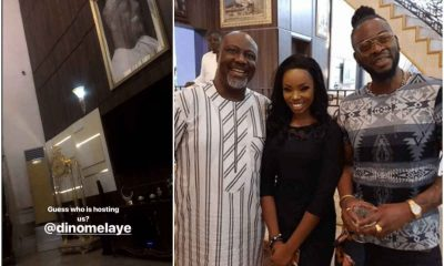 BB Naija : Bambam, Teddy A Hosted By Dino Melaye
