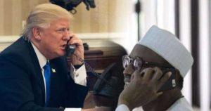 COVID-19: What President Buhari, Trump Discussed During Phone Conversation