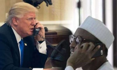 COVID-19: What President Buhari, Trump Discussed During Phone Conversation
