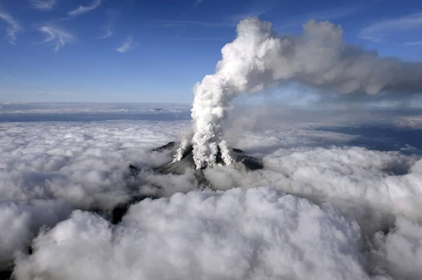Volcano in Japan erupts for 1st time in 250 years