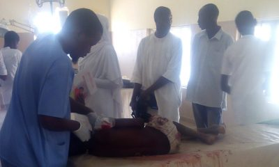 Customs Stray Bullet Injures Primary Six Pupil