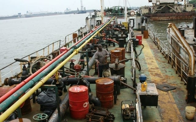 Navy Oil TVCnews - Nigerian Pirates Attack Small Oil Tanker, Kidnap Six Sailors
