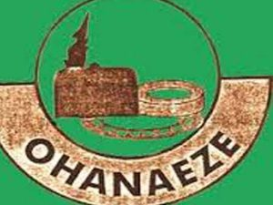 Ohanaeze Reacts To Blockage Of Onions To South East