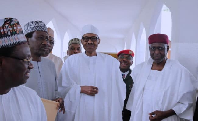 """President Buhari Says He Is Seeking Re-Election Because Of The """"Clamour By Nigerians"""""""