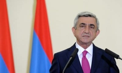 Serzh Sargsyan: Armenian Prime Minister Resigns Following Days Of Mass Protests