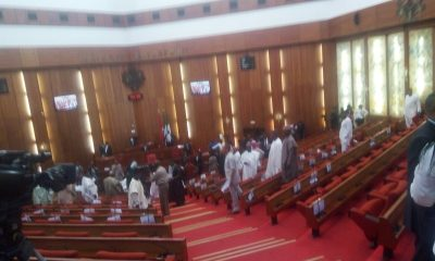 Scenes of the attack on National Assembly | Credit: Sumner Sambo