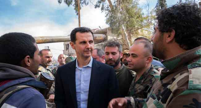 France to strip Syria's Bashar al-Assad of Legion d'Honneur