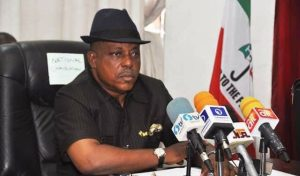 Uche Secondus 300x176 - PDP Not Concerned About Zoning, Merger – Secondus