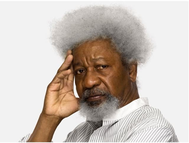 File photo of Wole Soyinka