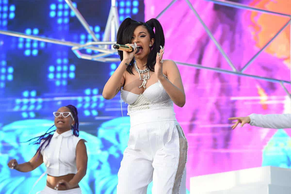 Cardi B Rules Billboard Artist 100 Chart for First Time