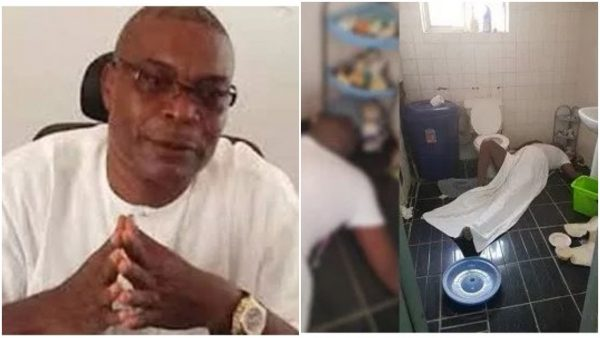 ex rep found dead in Abuja residence