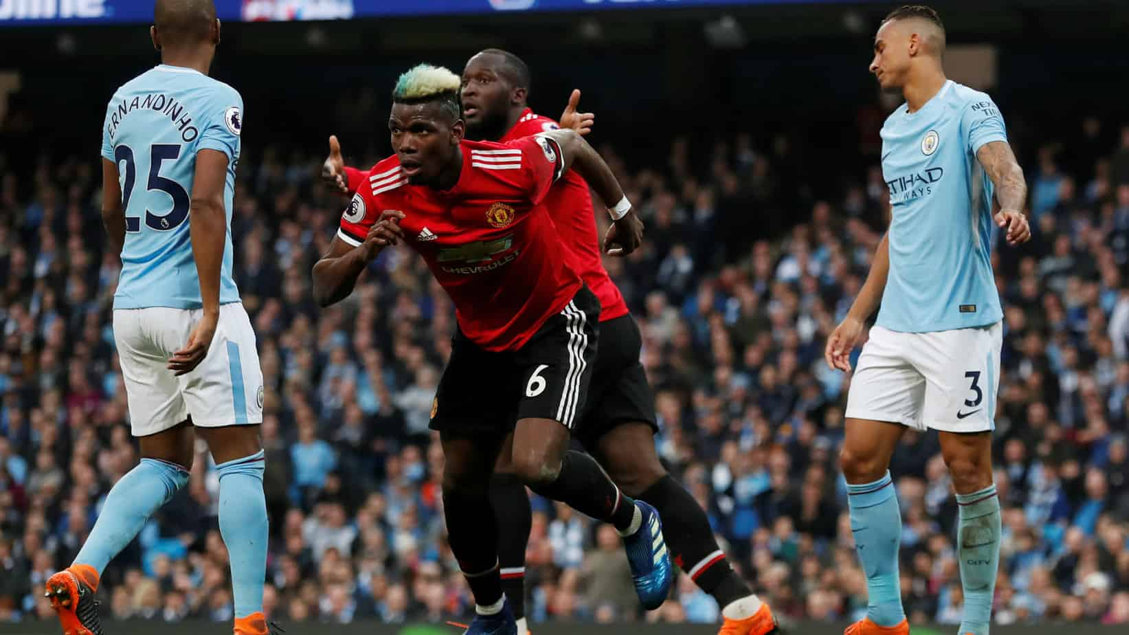 United defeat City in Manchester derby