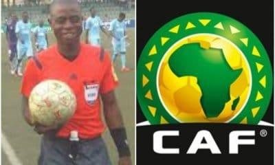 CAF bans Nigerian referee, Joseph Ogabor