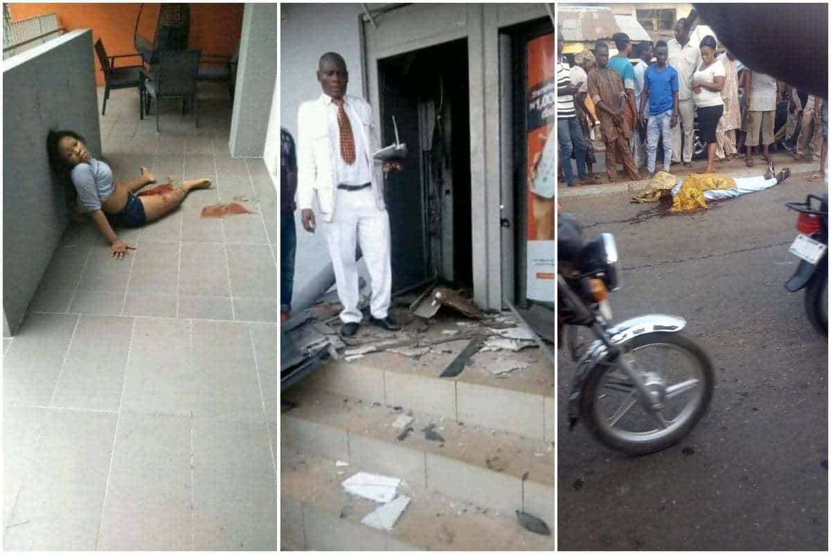 Bloodbath In Offa: Graphic Photos Of Police Officers, Other Victims Killed During The Deadly Bank Robbery In Kwara