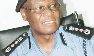 Ex-Inspector-General of Police (I-G), Mr Sunday Ehindero