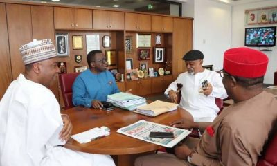 Saraki, Adewole, Ngige in closed door meeting over JOHESU strike