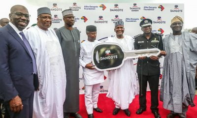 Dangote donates vehicles to police